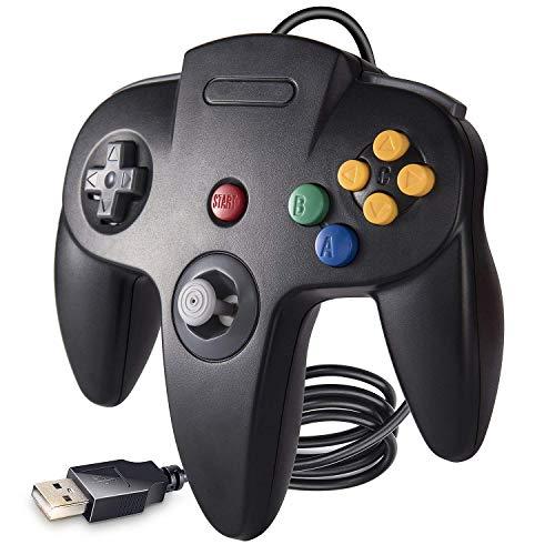 Suily N64 - Mando para Videojuegos con Cable USB