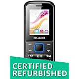 (Renewed) Reliance Lava C180 Single SIM, (Reliance CDMA) ,Battery 1000mAh - Black