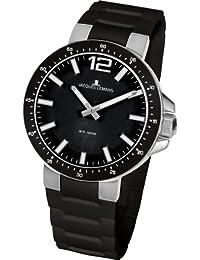 Jacques Lemans Damen-Armbanduhr XS Milano Analog Silikon 1-1707A