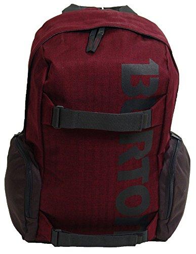 burton-zaino-porta-laptop-emphasis-rosso-zinfandel-heringbone-15-x-38-x-58-cm-23-litri