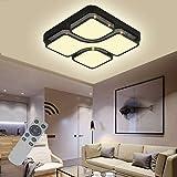 LED Deckenleuchte 48W Deckenlampe Dimmbar Energiespar Wohnzimmer Schlafzimmer