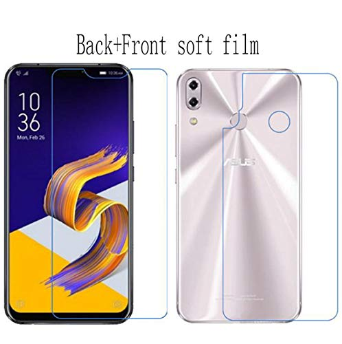 BestPriceEver Front and Back Flexible Unbreakable Tempered Glass Screen Guard for Zenfone 5z (2018)