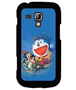printtech Designer funny cartoon Back Case Cover for Samsung Galaxy S Duos S7562