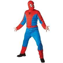 Rubbies - Disfraz de Spiderman para hombre, talla L (880938STD)