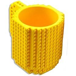 Taza Lego–costruisci directamente en la taza formada por de briquetas–350ml