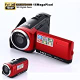 SLB Works Brand New Full HD 1080P 16MP Digital Video Camcorder Camera DV HDMI 2.7'' TFT LCD 16X Zoom
