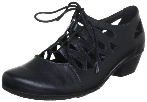 Remonte D7312, Damen Mary Jane Halbschuhe, Schwarz (schwarz 01), 38 EU (5 Damen UK)