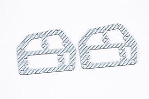 Graupner 90190.125  - Estructura superior del chasis de fibra de carbono, color plateado importado de Alemania