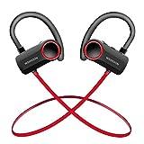 WSIIROON Bluetooth Kopfhörer in ear V4.2, Wireless Sport Kopfhörer mit 11 Stunden Spielzeit, IPX7 Wasserdicht kopfhörer kabellos Stereo Bass mit Mikrofon für iphone, ipod, Samsung, Nexus, HTC und Mehr