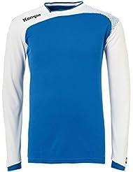 Kempa emoción camiseta de manga larga - azul/blanco, color  - multicolor, tamaño M