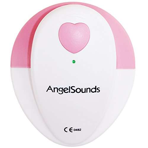AngelSounds - Fetal Doppler, Hören Sie den Herzschlag Ihres ungeborenen Babys (Baby Pferd Jumper)