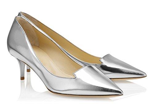 Chaussures Escarpins Femmes Quotidiennement Toe Enfiler Grande Taille Stilettos A Pointues uBeauty Argent des 0zd6Yqzw