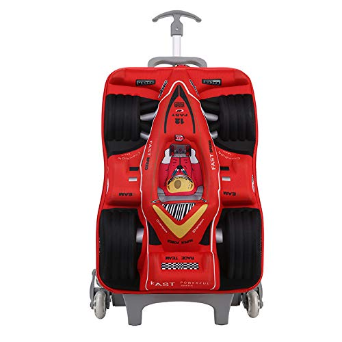 Kinder gepäcktasche, bunte racing trolley tasche grundschule racing gepäcktasche klettern treppe kindergarten trolley 76 * 28 * 15 cm