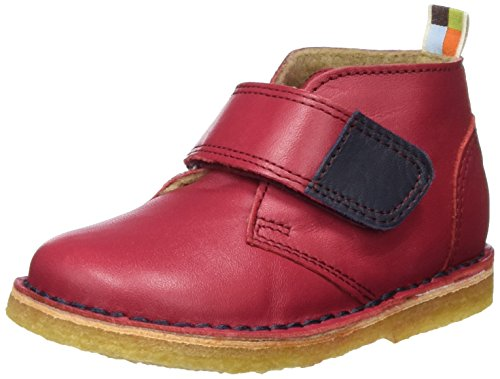 loud + proud Unisex-Kinder Desert Boots Rot (Purple)