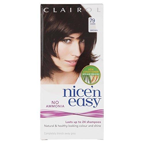 3-x-clairol-nicen-easy-non-ammonia-hair-colour-dark-brown-79