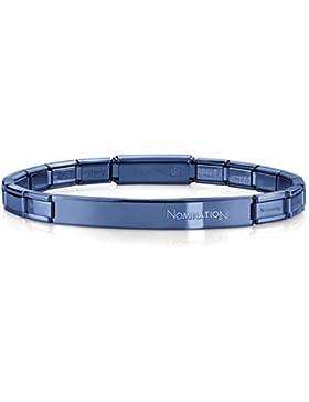 Nomination Damen-Armband Trendsetter Edelstahl 20 cm - 021113/016