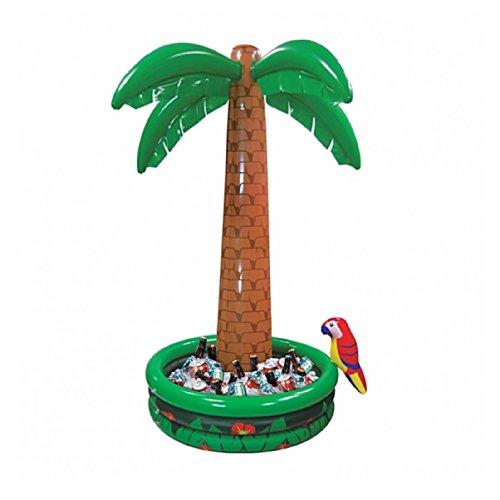 le Jumbo Palm Tree Drinks Beer Cooler Summer BBQ Jungle Safari Pirate Hawaiian Luau Party Decoration Parrot Pool ()