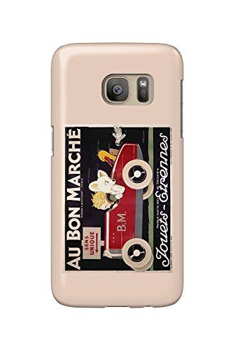 au-bon-marche-jouets-etrennes-car-vintage-poster-artist-vincent-france-galaxy-s7-cell-phone-case-sli