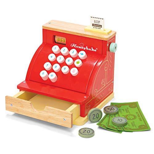 Le Toy Van TV295 Cash Register - Taste Register Cash