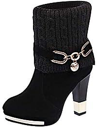 e13388697bfb Amazon.fr   8 - 11 cm - Bottes et bottines   Chaussures femme ...