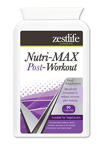 Zestlife NutriMax Post Workout 90 Capsule Fornisce supporto per il sistema immunitario .