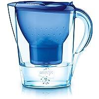 Brita Carafe Filtrante, Marella, 2.4L, 1 Cartouche Filtrante Maxtra incluse - Bleu