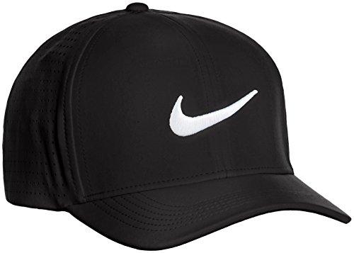Nike 803330-010 Casquette Mixte Adulte, Noir/Anthracite/Blanc, FR : M (Taille Fabricant : M/L)
