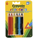 Crayola - Loisir Créatif - 6 Crayons De Couleur Triangulaires