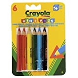 Crayola - 6 Mini Kids Triangular Pencils