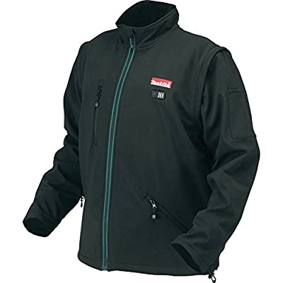 Makita DCJ200ZL 14.4V/18 V Li-ion Heated Jacket Size L, No Batteries Included by Makita
