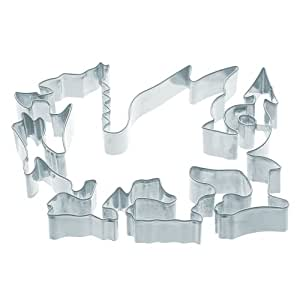"KitchenCraft Large Metal Welsh Dragon Country-Themed Cookie Cutter, 14.5 x 10 cm (5.5"" x 4"")"
