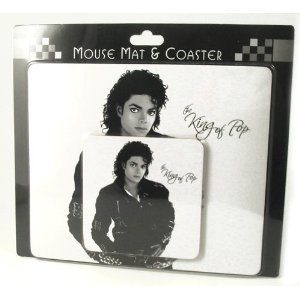LEONARDO HOME Michael Jackson Mauspad und Untersetzer (Home Jackson Decor Michael)