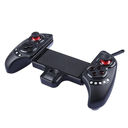 Ipega PG-9023 Bluetooth 3.0 Wireless Controller nero Gamepad Joystick per iPhone4 / 4S / 5 / 5s / 5c Android 3.2 Smartphone / telefono cellulare con 5 Multimedia Pulsanti funzione telescopica stand Supporta dispositive 5 - 10 pollici