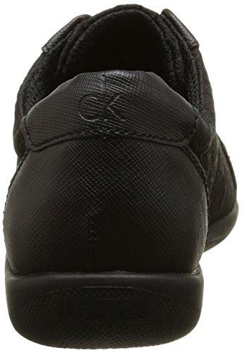 Calvin Klein Tammy Ck Logo 3d, Baskets Basses Femme Noir (Bbk)
