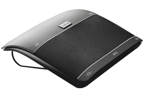 Jabra Freeway Altoparlante Auto, Vivavoce Bluetooth, Nero