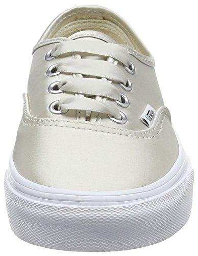 Vans Women's Authentic Trainers, Beige (Satin Lux) Light Silvertrue White Q9j, 6.5 Uk 40 Eu