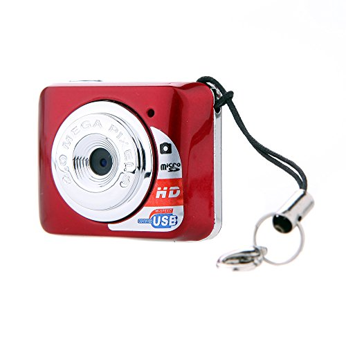 Docooler X3 Mini Caméra Portable Mini Appareil Photo Numérique HD Mini DV Support Carte 32GB TF avec Micro