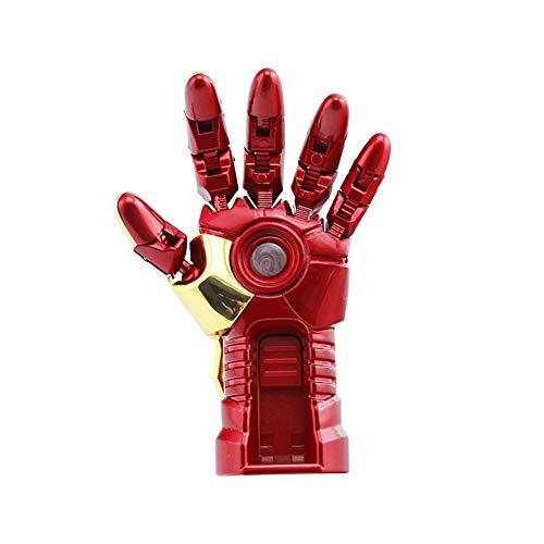 Memorias USB Flash Drive Anime Vengadores superhéroe 4/8/16/32/64 / 128GB Marvel Superhero Series (32GB, Iron Man Left Hand)