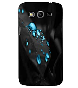 Printdhaba Droplets D-1239 Back Case Cover For Samsung Galaxy Grand 2