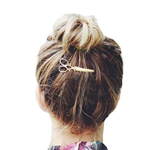 sunshineBoby 1 STÜCK Haarspange Haarschmuck Kopfschmuck,Turban-Kopf-Verpackungs,Haare Frisuren Haar Zubehör styling,Hair Styling Accessories Kit Set Haar Styling Werkzeug (Gold, 50)