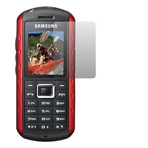 2 x Slabo Displayschutzfolie Samsung B2100 Displayschutz Schutzfolie Folie Crystal Clear unsichtbar B2100 Outdoor MADE IN GERMANY