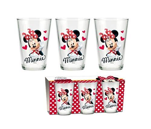 Disney Minnie Mouse Gläser 3er