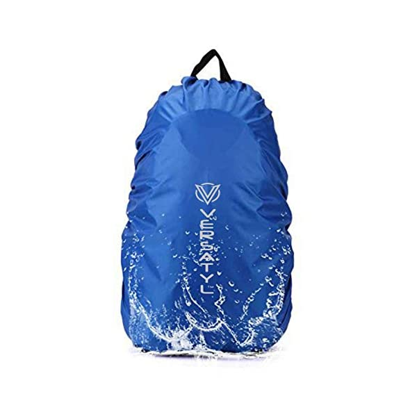 VERSATYL Nylon Pack Cover (Blue_Rain-cover1_BLUE)
