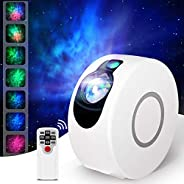 جهاز عرض ضوء ليلي للنجم، ترقية 15 أوضاع إضاءة 7 تأثيرات إضاءة جهاز العرض الجلاكسي السماوي LED ضوء سديم السحابة