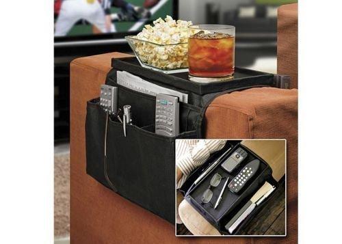 SystemsEleven Organizer-Tablett für Armlehne, Stuhl, Sofa, Couch, Sofa, für Fernbedienung, Tisch, Halter (Arm-sofa Hohe)