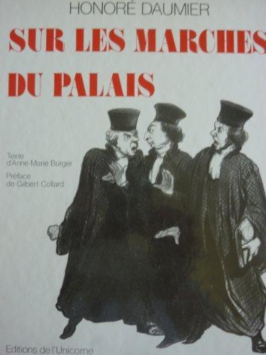 Honor Daumier : Sur les marches du Palais