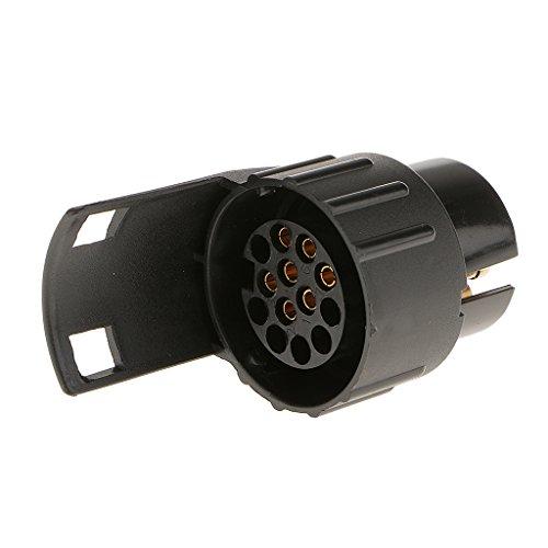 7 Pin 13 Pin Adaptador Conector Enchufe Zócalo Corto