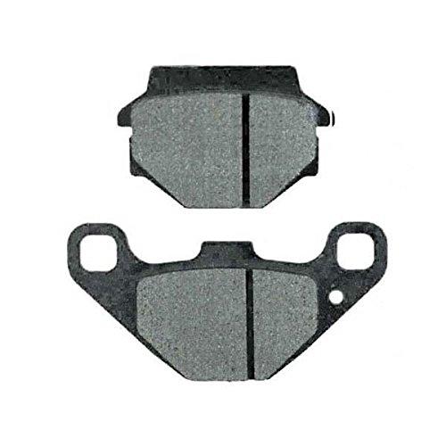 MetalGear Bremsbeläge hinten für Kawasaki KLR 650 C 1994 - 2007 - KL650C (650 Klr Zubehör)