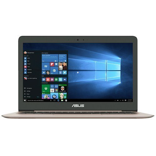 Asus Zenbook UX310UQ-FC366T 33,7 cm (13,3 Zoll mattes Full HD) Notebook (Intel Core i5-7200U, 8GB RAM, 1TB HDD, 256GB SSD, Nvidia 940MX, Win 10) gold
