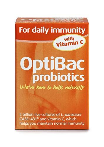 OptiBac Pour l'Immunité Quotidienne- 5 Milliards UFC L. Casei 431 Véganes - 30Gélules